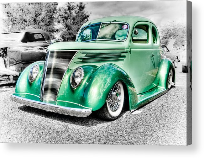 Ford Coupe Acrylic Print featuring the photograph 1937 Ford Coupe by Phil 'motography' Clark