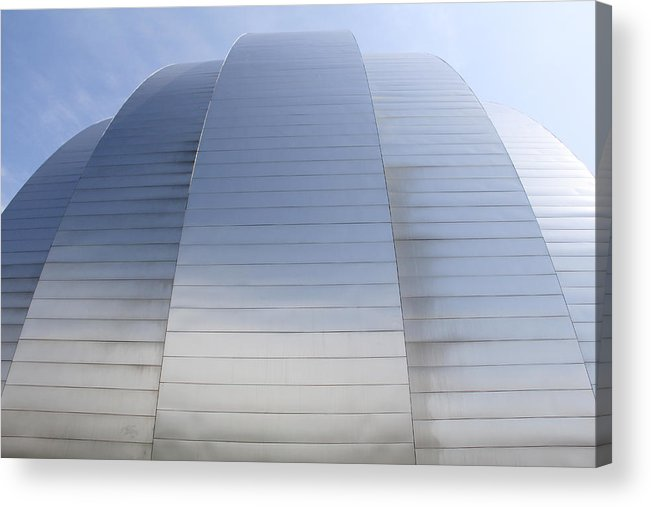 Architecture Acrylic Print featuring the photograph Kauffman Center For Performing Arts by Mike McGlothlen