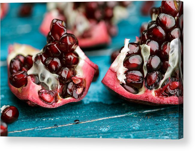 Pomegranate Acrylic Print featuring the photograph Pomegranate by Nailia Schwarz