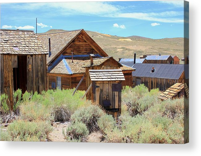 Mining Acrylic Print featuring the photograph Bodie California by Douglas Miller