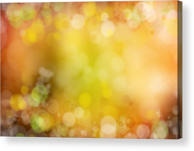 Space Acrylic Print featuring the photograph Abstract Background by Les Cunliffe