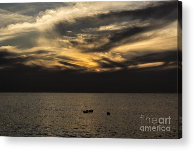 Sunrise Acrylic Print featuring the photograph Sunrise by Brahimou NG