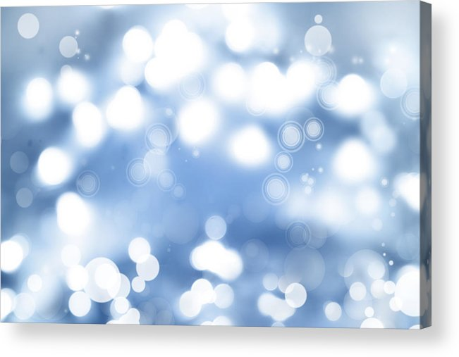 Abstract Acrylic Print featuring the photograph Abstract Background by Les Cunliffe