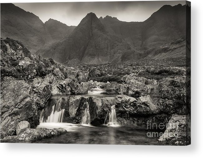 Afternoon Acrylic Print featuring the photograph Fairy Pools by Maciej Markiewicz