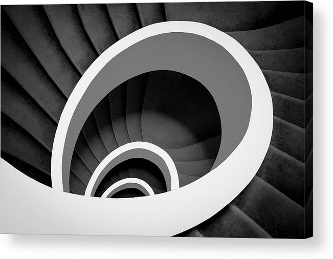 Spiral Acrylic Print featuring the photograph Untitled by Inge Schuster
