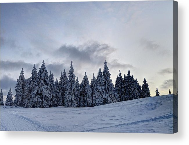 Adventure Acrylic Print featuring the photograph Winter by Ivan Slosar