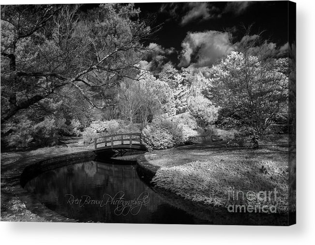 Infrared Acrylic Print featuring the photograph 351 by Rrea Brown
