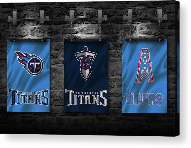 Titans Acrylic Print featuring the photograph Tennessee Titans by Joe Hamilton