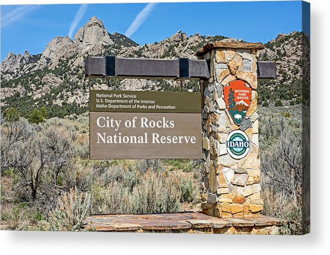 City Of Rocks Acrylic Print featuring the photograph City Of Rocks by Elijah Weber