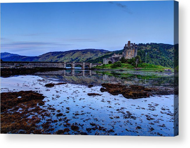 Europe Acrylic Print featuring the photograph Eilean Donan Castle by Ollie Taylor