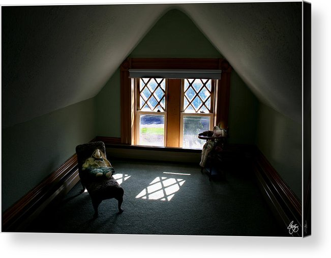 Childs Acrylic Print featuring the photograph A Childs Space by Wayne King