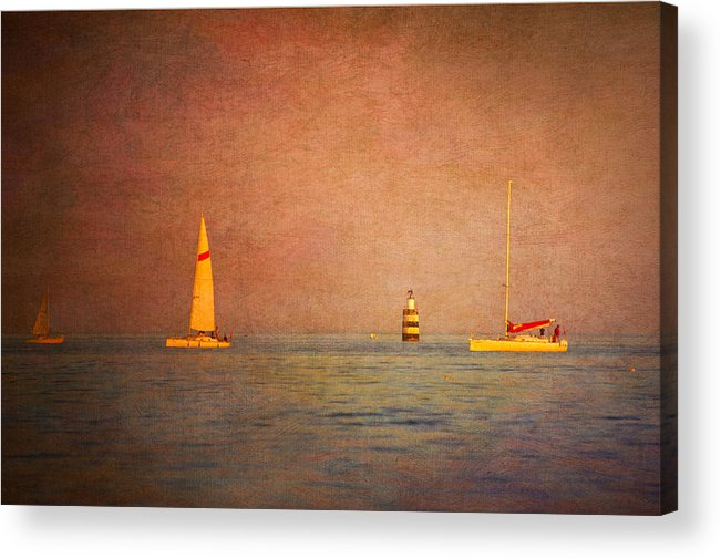 Loriental Acrylic Print featuring the photograph A Perfect Summer Evening by Loriental Photography