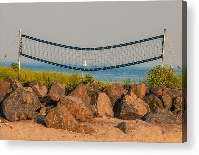 Westport Ct Acrylic Print featuring the photograph A Summers End by Terry Cosgrave