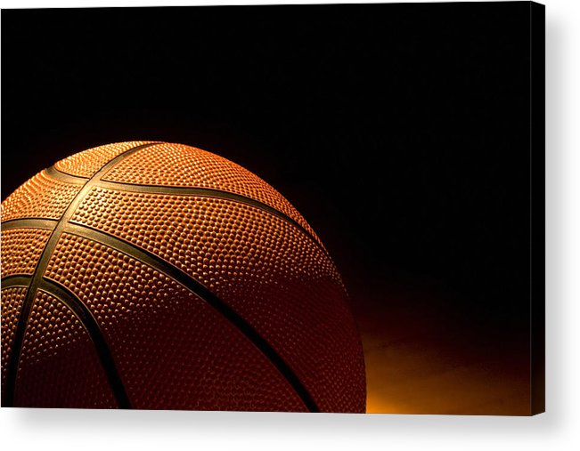 Basketball Acrylic Print featuring the photograph After The Game by Andrew Soundarajan