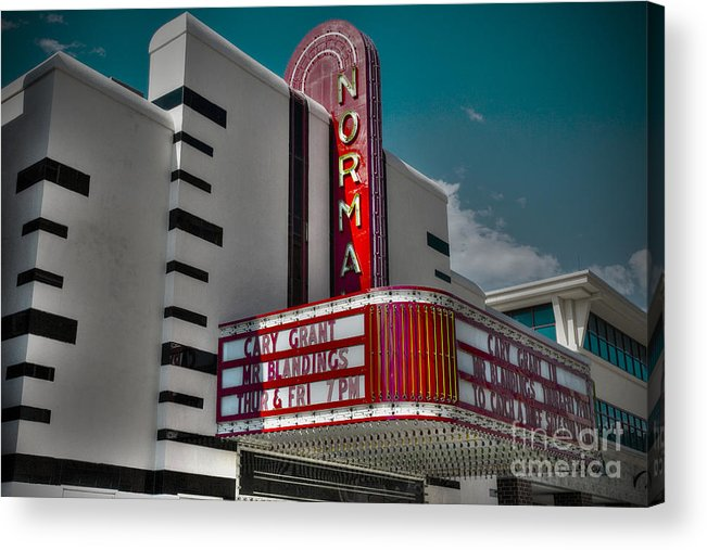 Illinois Acrylic Print featuring the photograph All Is Normal by Alan Look