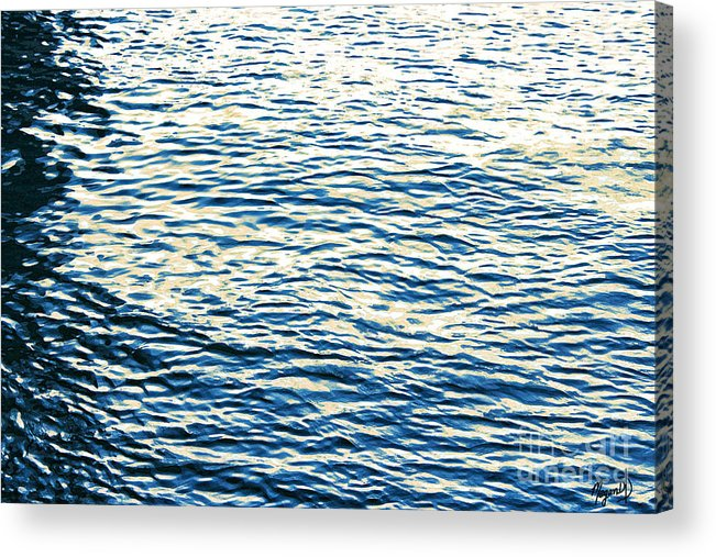 Abstract Acrylic Print featuring the mixed media Always In Motion by Megan Dirsa-DuBois