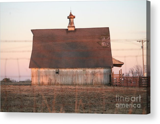 Barn Acrylic Print featuring the photograph Another Barn by Anthony Cornett