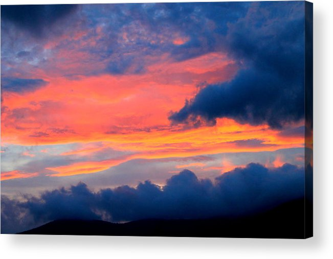 Landscape Acrylic Print featuring the photograph Appalachian Sunset by Mary Koval