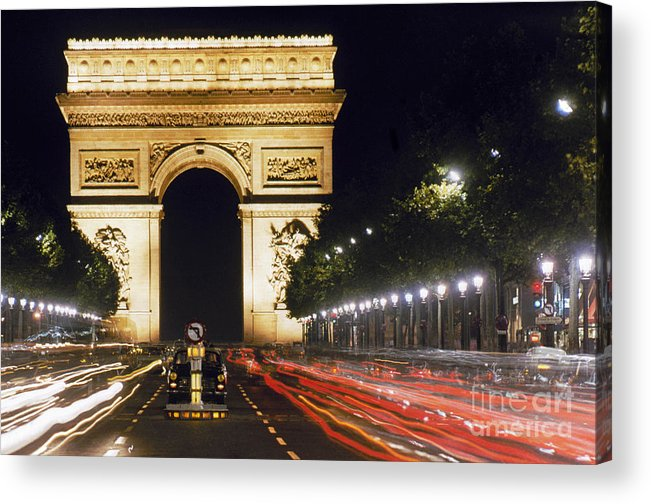 Arch Acrylic Print featuring the photograph Arc De Triomphe by Granger