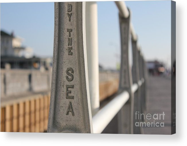 Beach Acrylic Print featuring the photograph Avon-by-the-sea by Suzanne Kelly