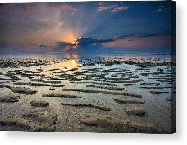 Bali Acrylic Print featuring the photograph Bali Sunrise by Robert Aycock
