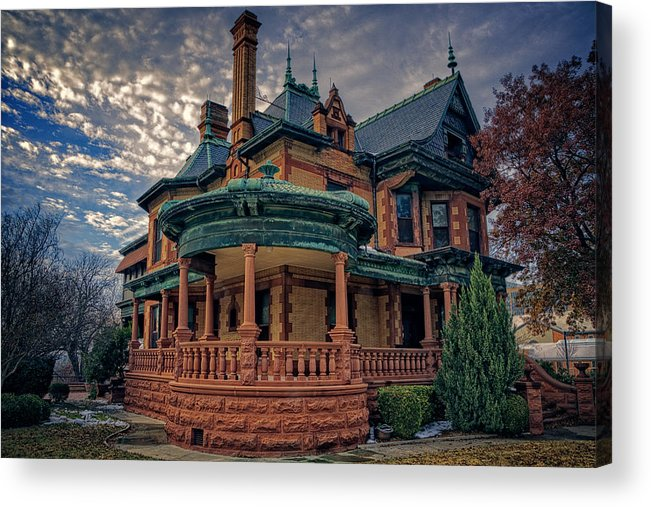 Joan Carroll Acrylic Print featuring the photograph Ball Eddleman Mcfarland House by Joan Carroll