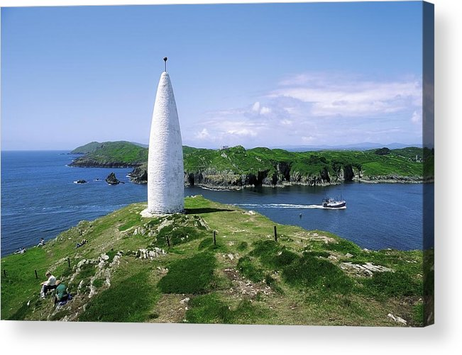 Baltimore Acrylic Print featuring the photograph Baltimore Beacon by The Irish Image Collection