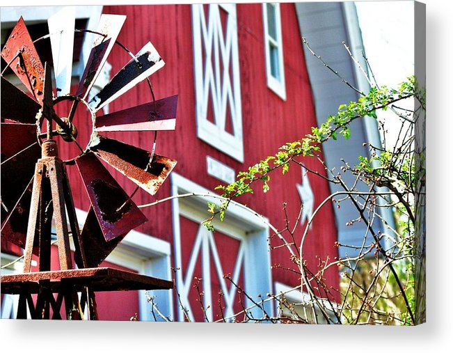 Barn Acrylic Print featuring the photograph Barn 2 by Christopher Hoffman