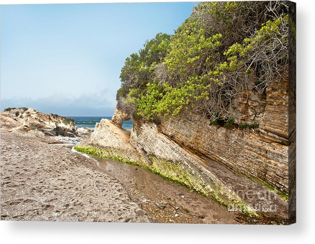 Ocean Acrylic Print featuring the photograph Beach At Montana De Oro by Artist and Photographer Laura Wrede