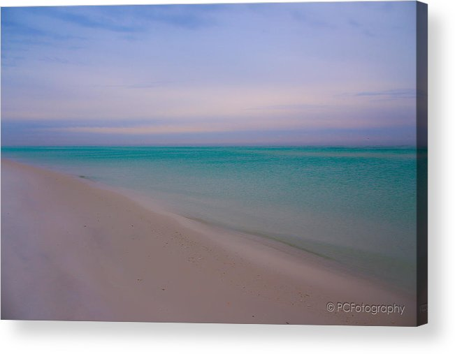 Florida Acrylic Print featuring the photograph Beach Tranquility by Preston Fiorletta