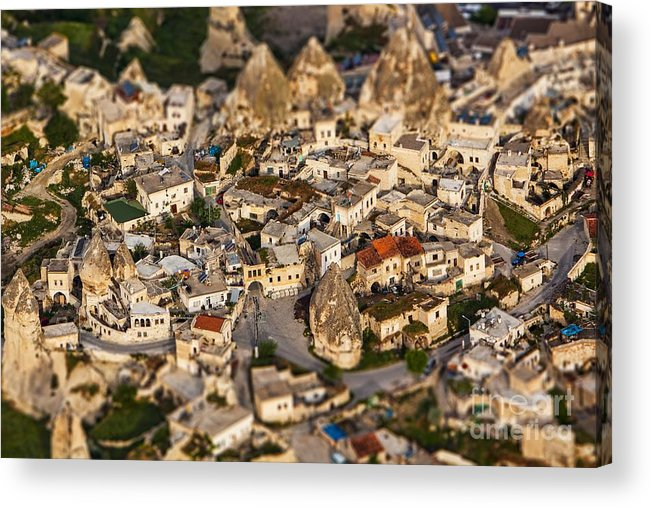 Miniature Acrylic Print featuring the photograph Bedrock by Andrew Paranavitana