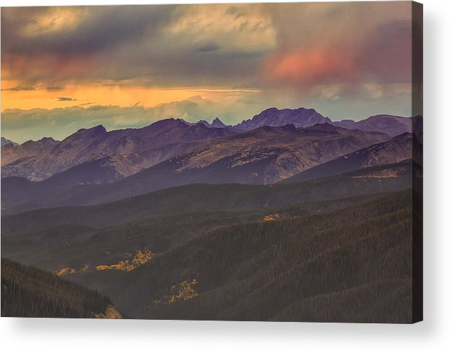 Fraser Acrylic Print featuring the photograph Berthoud Pass by Jennifer Grover