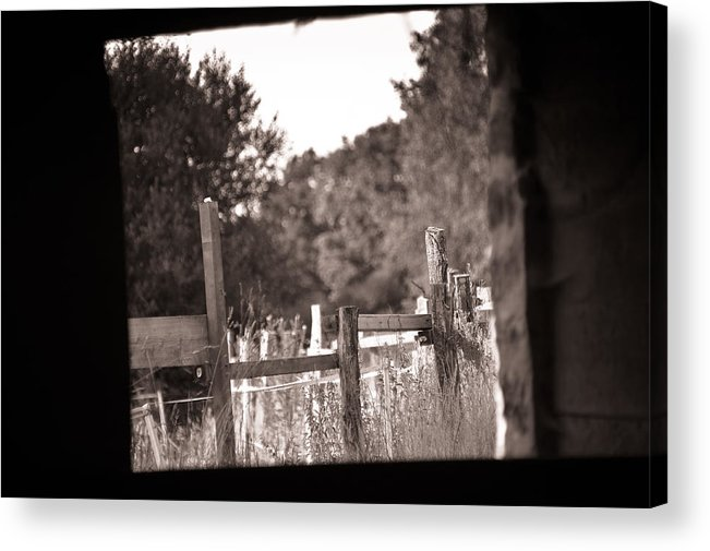 Loriental Acrylic Print featuring the photograph Beyond The Stable by Loriental Photography
