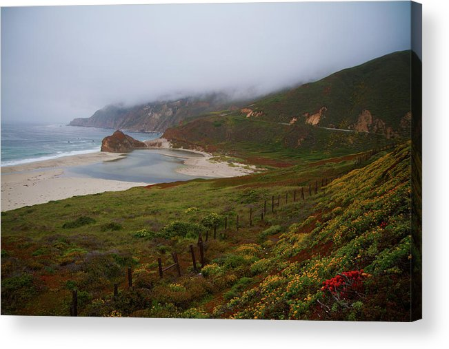 Landscape Acrylic Print featuring the photograph Big Sur by Tom Kelly