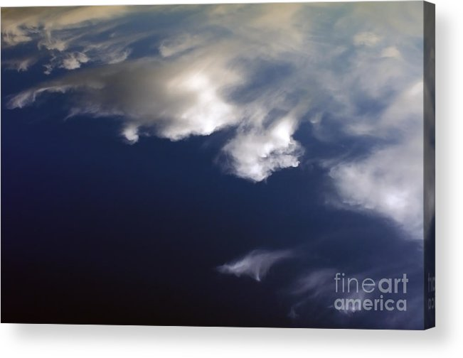 Sky Acrylic Print featuring the photograph Blue Sky And Clouds by Bruno D'Andrea