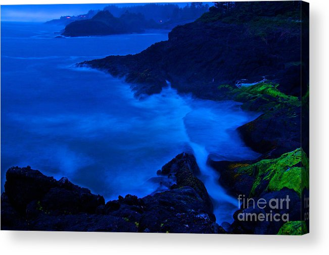 Boiler Bay Acrylic Print featuring the photograph Boiler Bay by Marcus Angeline