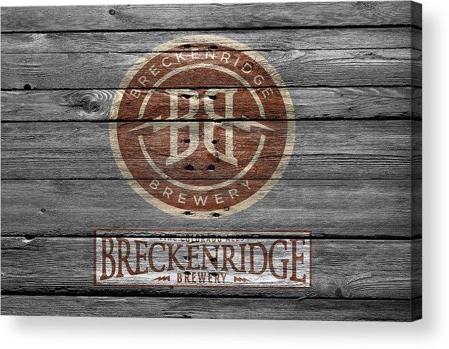 Breckenridge Brewery Acrylic Print featuring the photograph Breckenridge Brewery by Joe Hamilton