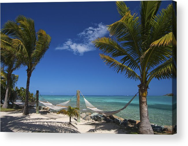 3scape Acrylic Print featuring the photograph Breezy Island Life by Adam Romanowicz