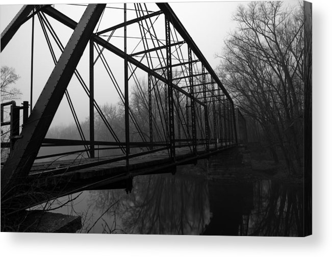 Bridge Acrylic Print featuring the photograph Bridge by Off The Beaten Path Photography - Andrew Alexander