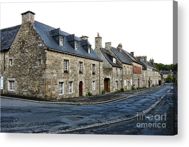France Acrylic Print featuring the photograph Brittany by Olivier Le Queinec