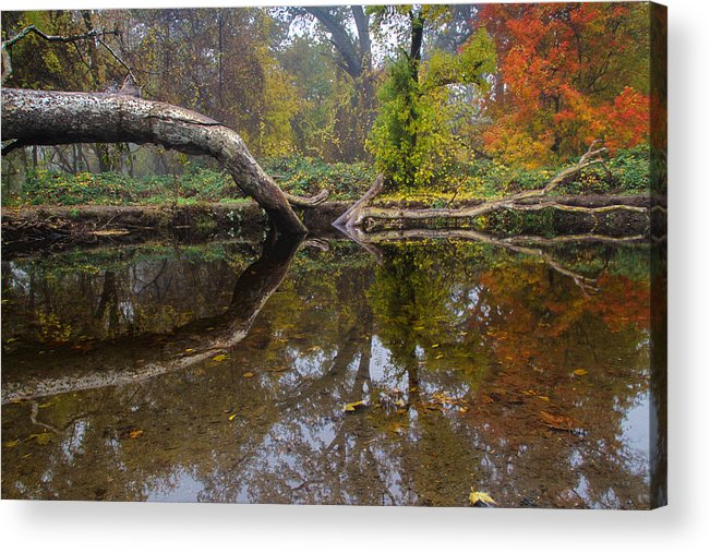 Chico Acrylic Print featuring the photograph Calm On Big Chico Creek by Robert Woodward