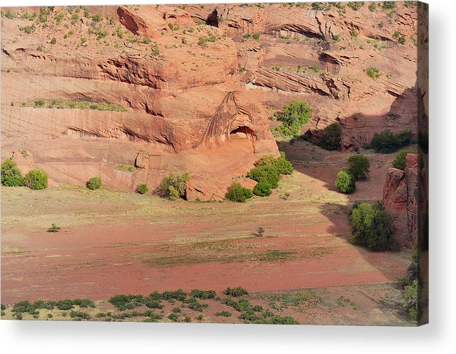 Canyon Acrylic Print featuring the photograph Canyon De Chelly From White House Ruins Trail by Christine Till