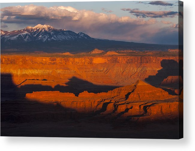 Canyonlands Acrylic Print featuring the photograph Canyonlands Light by Joseph Rossbach