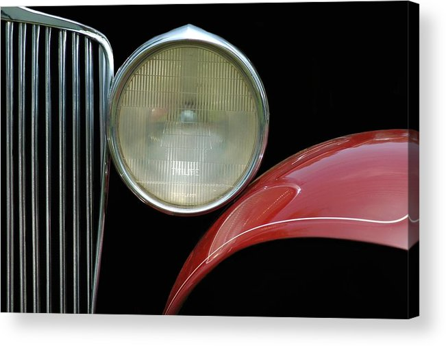 Car Acrylic Print featuring the photograph Car Parts by Dan Holm