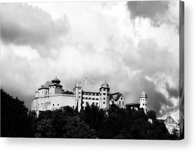 Castle Acrylic Print featuring the photograph Castle Harburg 2 by Pit Hermann