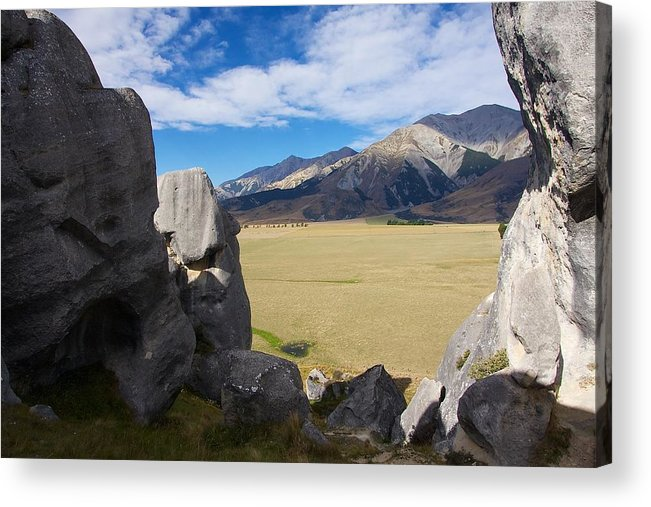 New Acrylic Print featuring the photograph Castle Hill #5 by Stuart Litoff