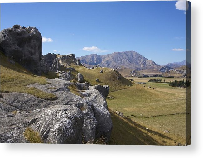New Acrylic Print featuring the photograph Castle Hill #6 by Stuart Litoff