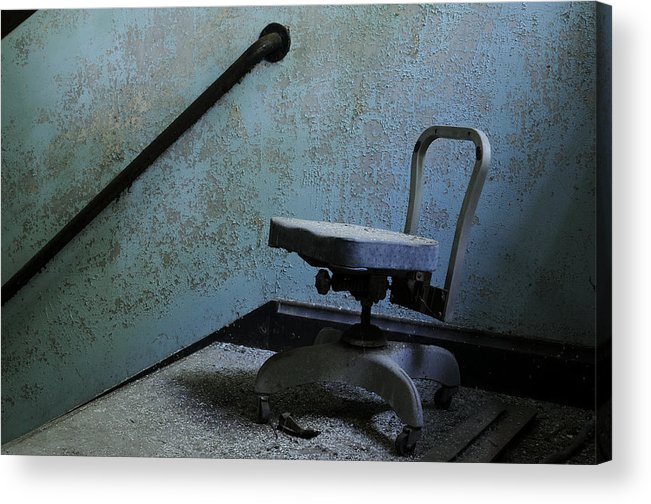 Abandoned Acrylic Print featuring the photograph Catatonic by Luke Moore