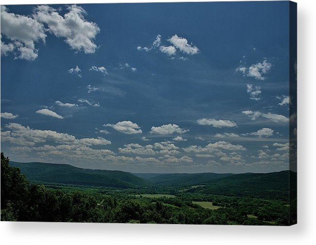 Battle Of Newtown Acrylic Print featuring the photograph Chemung Valley by Steven Richman