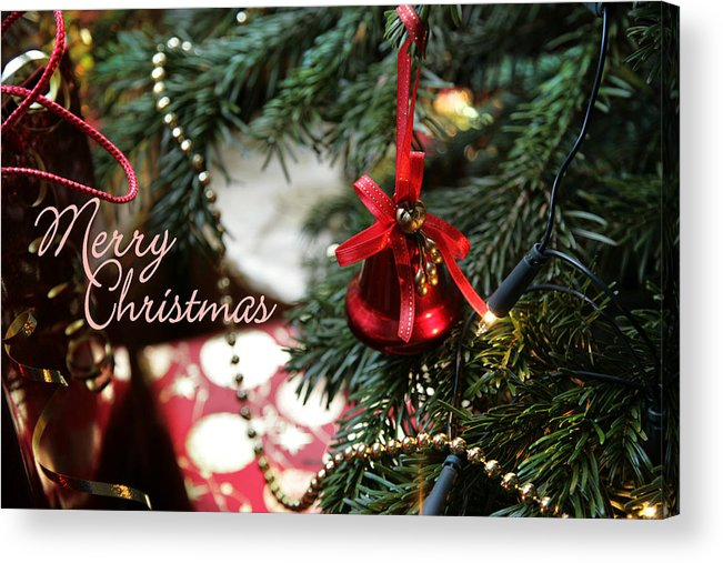 Christmas Card Acrylic Print featuring the photograph Christmas Greetings by Mal Bray